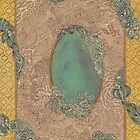 Yellow Pattern - The Qalam Series by Marium Rana