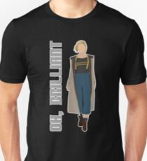13th Doctor Regeneration 'Oh, Brilliant' - Doctor Who - Twice Upon a Time, Jodie Whittaker Unisex T-Shirt