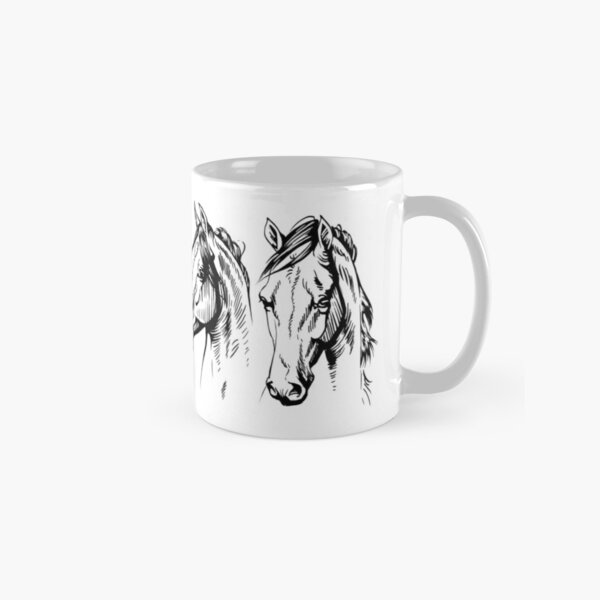 Four Horses Classic Mug