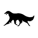 Borzoi Gaiting by Happy Dog Swag