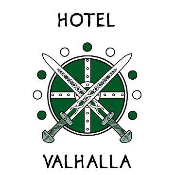 Magnus Chase - Hotel Valhalla by Kitshunette