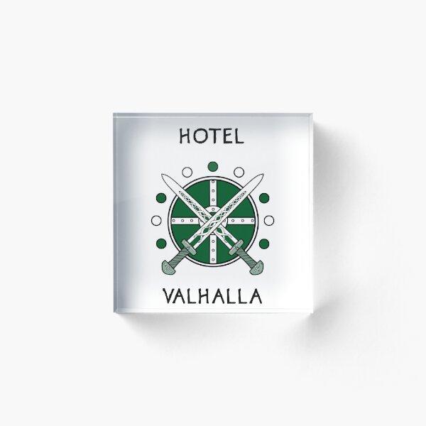 Magnus Chase - Hotel Valhalla Acrylic Block