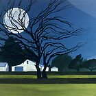 The Farm By Moonlight by Patricia Howitt