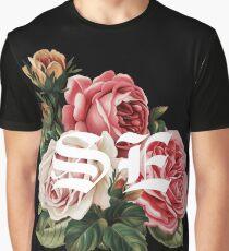 Summertime Eyes (Full Bloom White) Graphic T-Shirt