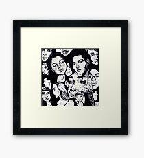 Composition 3 Framed Print