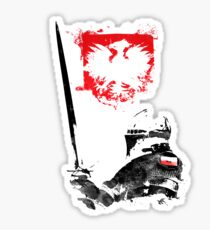 Polish Knight Sticker