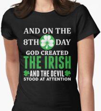 Proud Irish! Womens Fitted T-Shirt