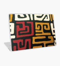 Afrozentrischer Mudcloth-Druck Laptop Folie
