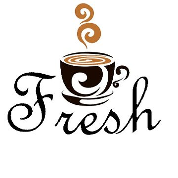 funky fresh coffee t-shirt by mofunkyfresh