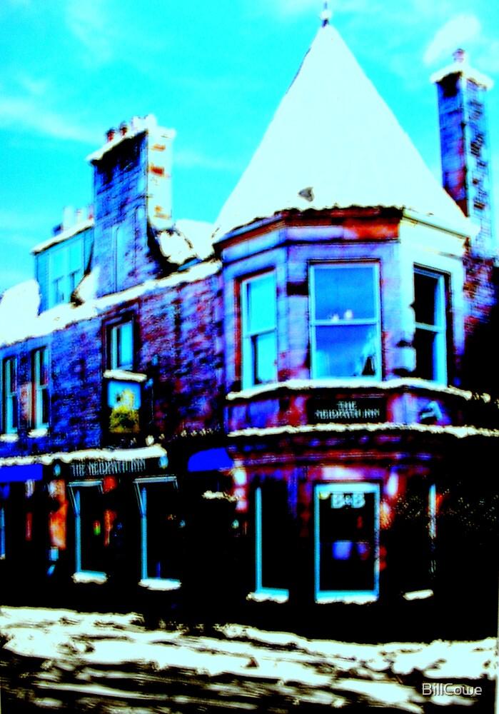 The Neidpath Inn, Peebles (digitally enhanced photograph) by BillCowe