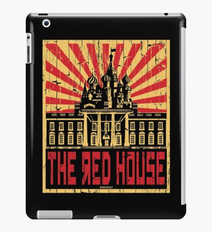 Vintage The Red House iPad Case/Skin