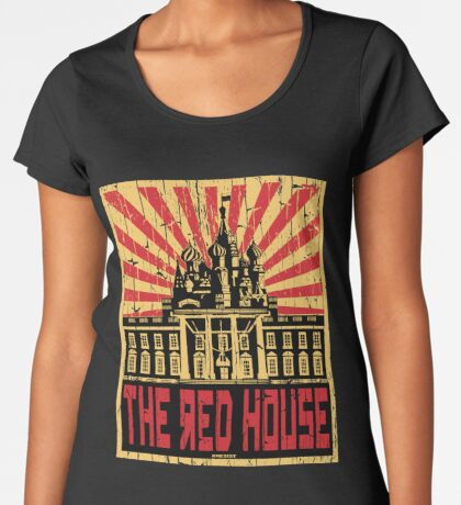 Vintage The Red House Women's Premium T-Shirt