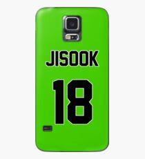 Rainbow Jisook Jersey Case/Skin for Samsung Galaxy