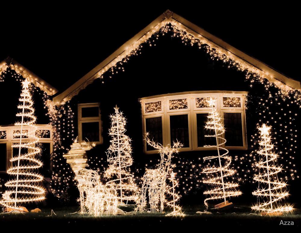 Xmas White lights by Azza