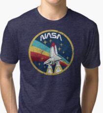Nasa Vintage Colors V01 Tri-blend T-Shirt