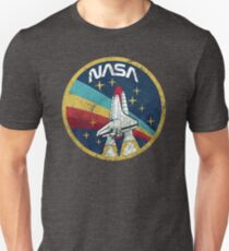 Nasa Vintage Colors V01 T-shirt unisexe