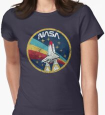 Nasa Vintage Colors V01 Women's Fitted T-Shirt