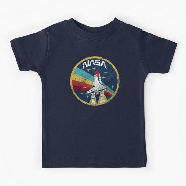 Nasa Vintage Colors V01 Camiseta para niños