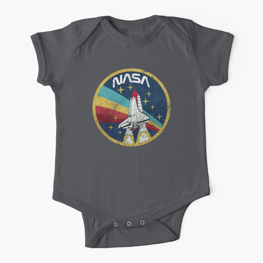 Nasa Vintage Colors V01 Baby One-Piece