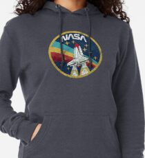 Nasa Vintage Colors V01 Lightweight Hoodie