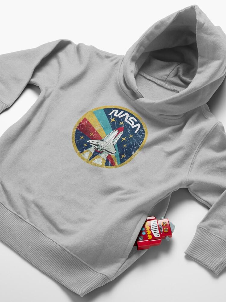 Alternate view of Nasa Vintage Colors V01 Toddler Pullover Hoodie