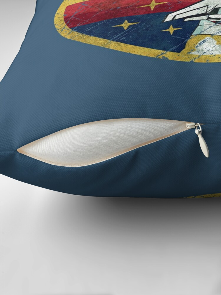 Alternate view of Nasa Vintage Colors V01 Floor Pillow