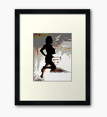 Forward looking, stand proud Framed Print