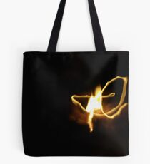 Long exposed match Tote Bag