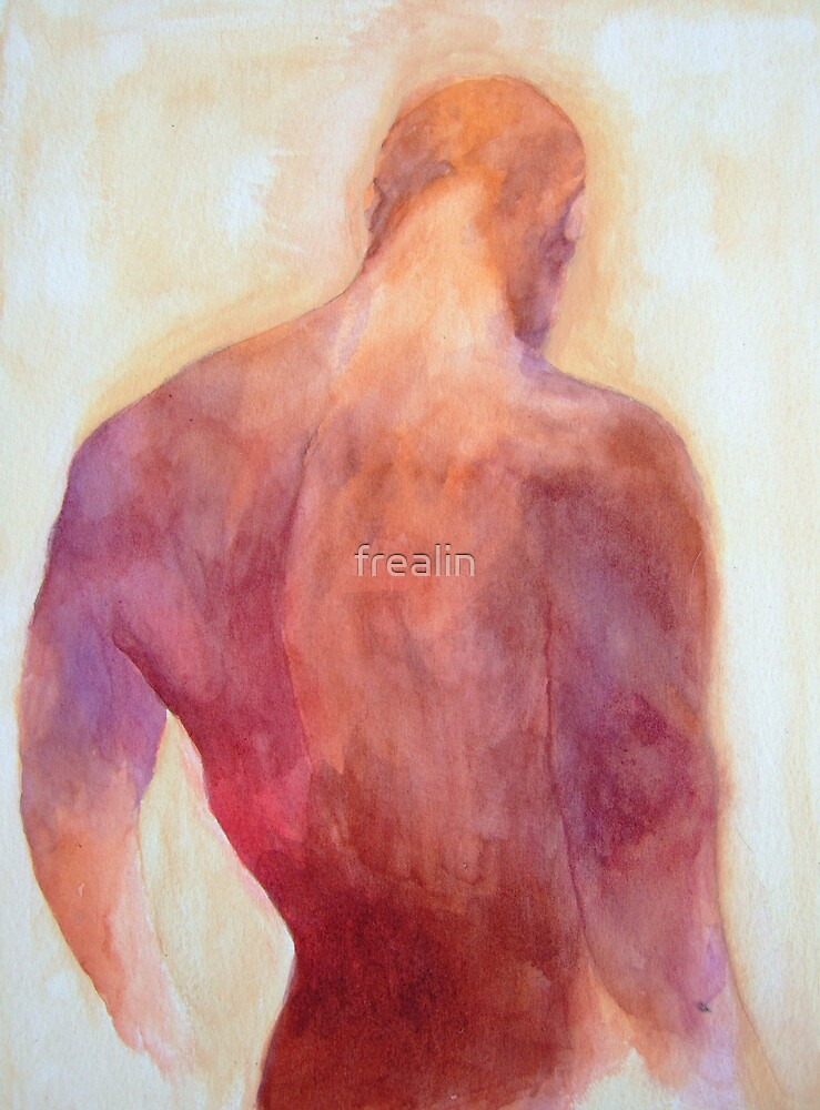 Man's Back by frealin