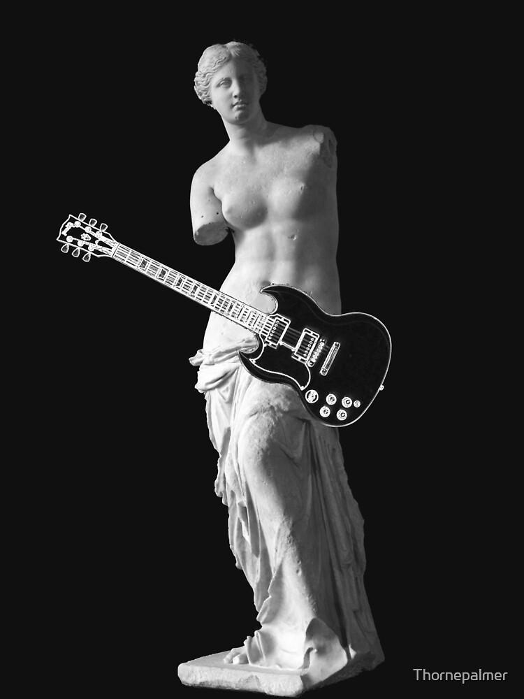Venus de Milo - Left-handed Guitarist by Thornepalmer