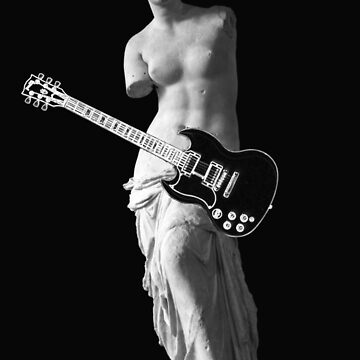 Venus de Milo - Left-handed Guitarist by Thornepalmer