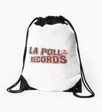 La polla records logo personalizado Drawstring Bag