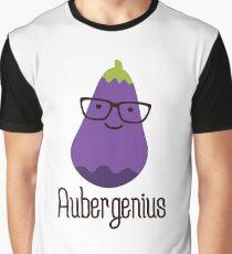 Aubergenius Graphic T-Shirt