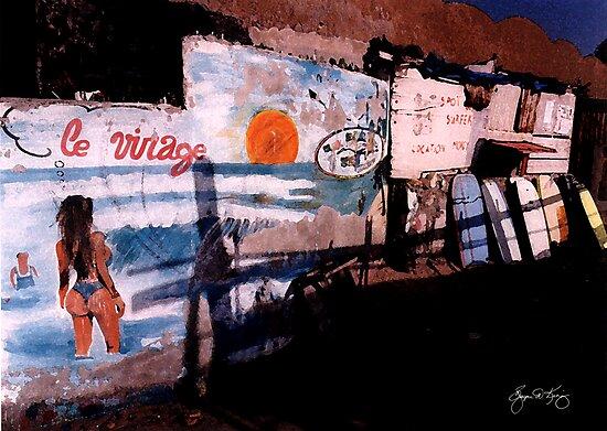 Senegal Surfshop by Wayne King