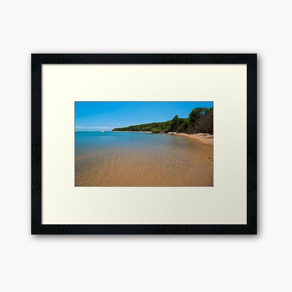 1770 Beach, Australia Framed Art Print