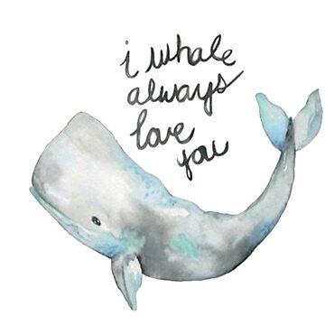 yo la ballena siempre te amo de stickersnstuff