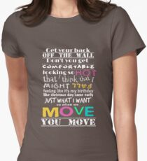 Move Women's Fitted T-Shirt