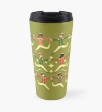 Ten Lords A-leaping Travel Mug