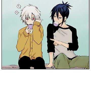 No.6  Nezushi and Shion by MetaaBoo
