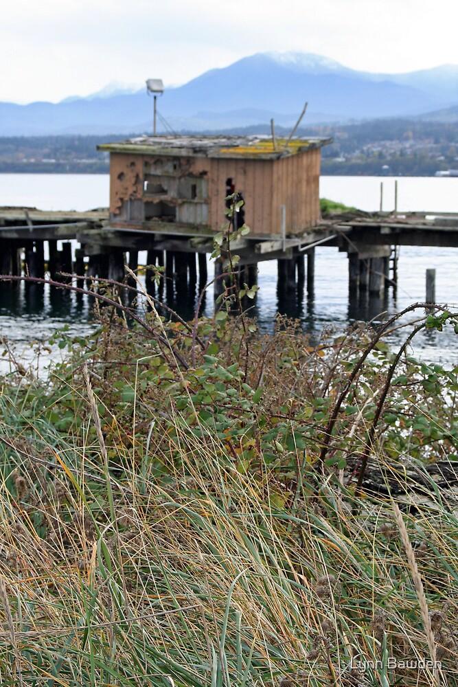 """""""Shack On A Pier"""" by Lynn Bawden"""