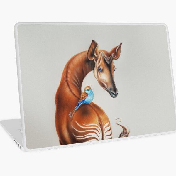 Okapi by Maria Tiqwah Laptop Skin