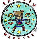 Rainbow Warrior - Bear - Animals of Inspiration series by mellierosetest