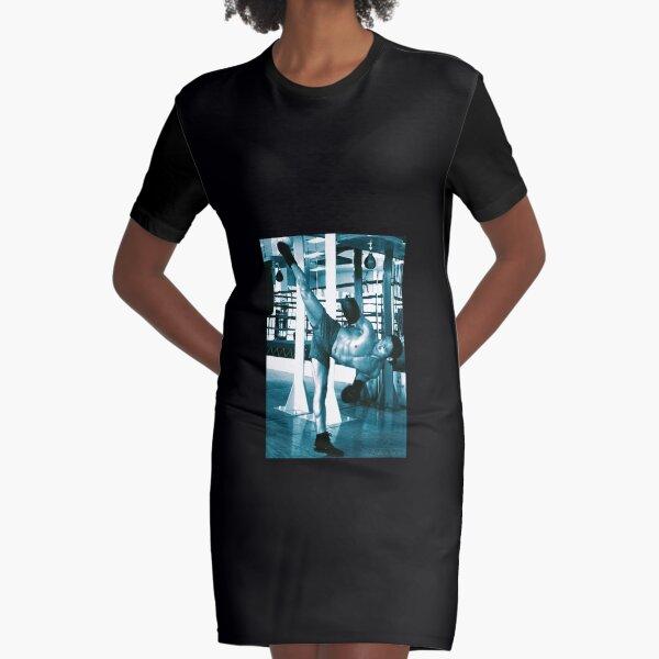 Paulino Sensei  武士 Graphic T-Shirt Dress