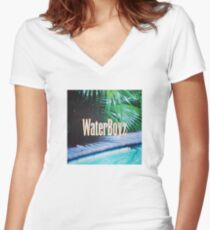 FijiWaterBoyz Fitted V-Neck T-Shirt