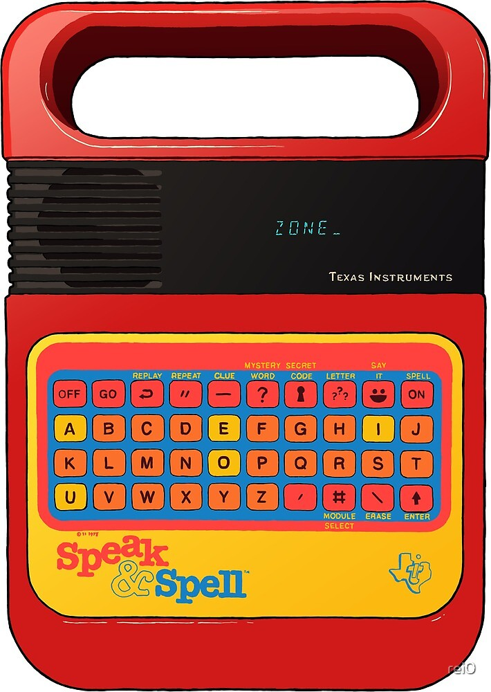 Speak and Spell by rei0