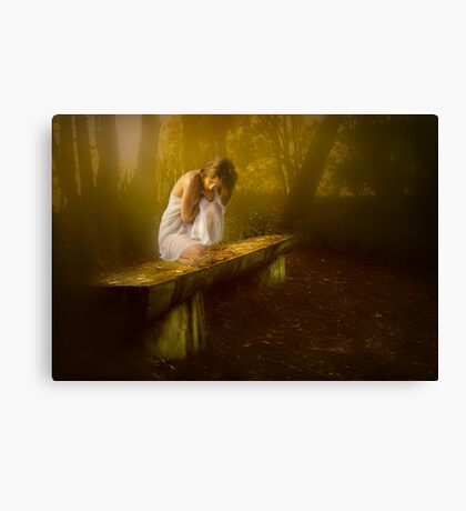 Maid in the mist ... Canvas Print