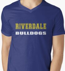 Riverdale Bulldogs Men's V-Neck T-Shirt