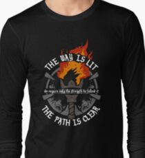 The Way Is Lit Long Sleeve T-Shirt