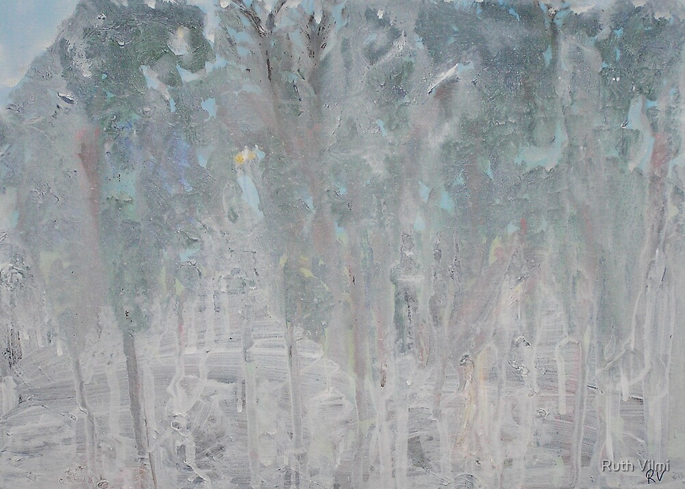 November snowstorm by Ruth Vilmi