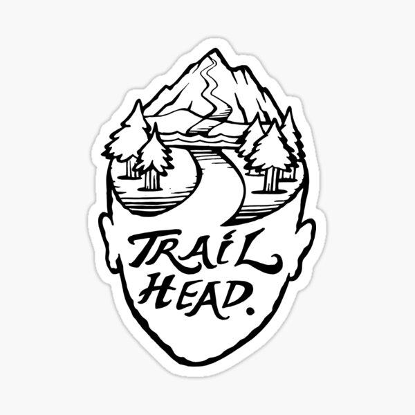 TrailHead - Landscape.  Sticker